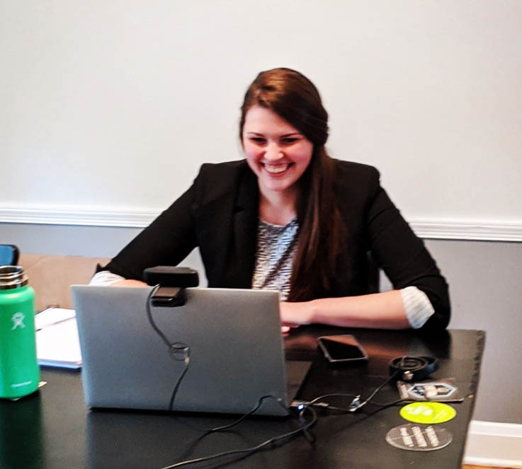 Congratulations to Christine Harper on a successful dissertation defense